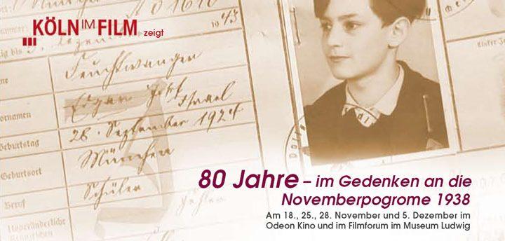 80 Jahre – Gedenken an die Novemberpogrome 1938