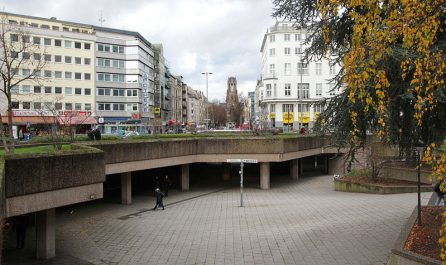 Ebertplatz, © Willy Horsch / CC BY 3.0 / via Wikimedia Commons