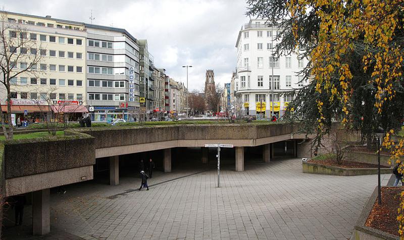 Ebertplatz, © Willy Horsch / CC BY 3.0 / via Wikimedia Commons
